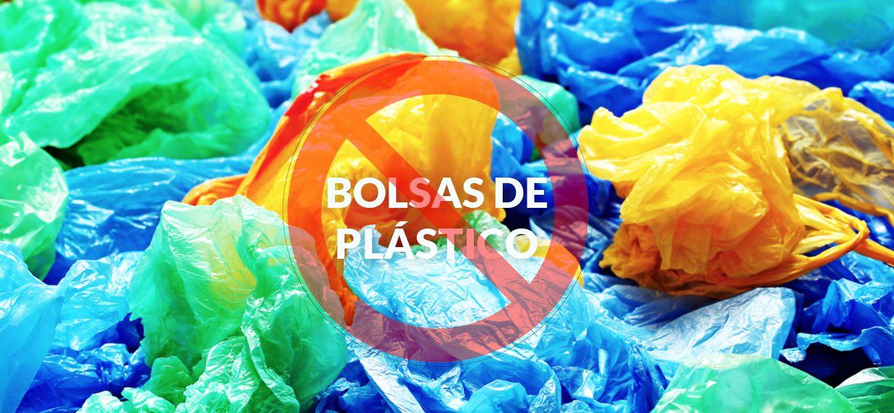 no más bolsas de plástico
