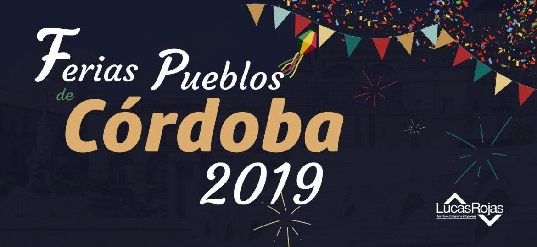 Ferias pueblos de Córdoba 2019